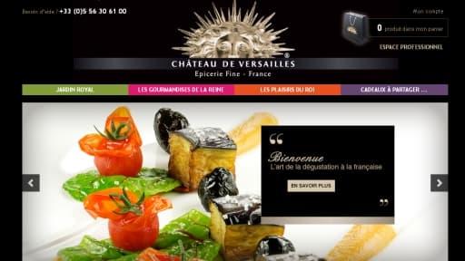 """Le Château de Versailles a vendu la licence de sa gamme d'épicerie fine a la société """"Oh! Legumes oubliés"""""""