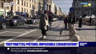 Paris: entre trottinettes et piétons, une cohabitation impossible?