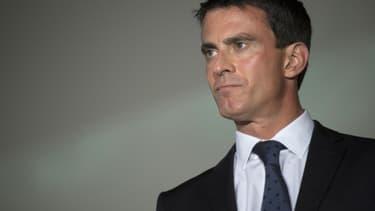 Manuel Valls devance Arnaud Montebourg et Benoît Hamon dans les intentions de vote des sympathisants de gauche à la primaire. (Photo d'illustration)