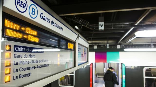 Les incidents ont été particulièrement nombreux sur le RER B en mars.