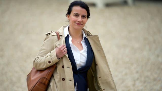 Cécile Duflot à la sortie du conseil des ministres en mai 2012