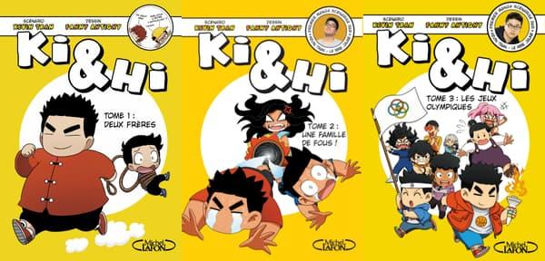 Couvertures de Ki & Hi