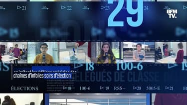 Ces collégiens organisent les élections de leurs délégués de classe façon journal télévisé