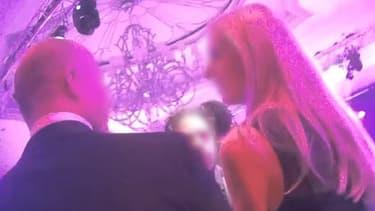 Une image extraite de la vidéo filmée en caméra cachée par une journaliste du Financial Times.