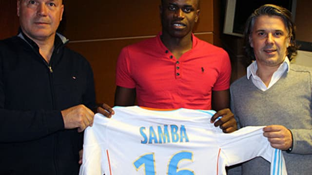Brice Samba vient de signer à l'OM