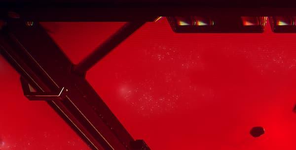 Une scène de bataille dans le jeu No Man's Sky.
