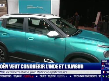 Citroën veut conquérir l'Inde et l'Amérique du Sud