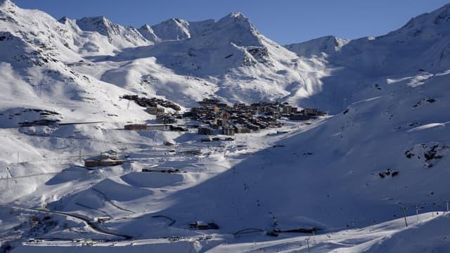 Les stations de ski (ici Val Thorens) sont largement impactées par la météo.