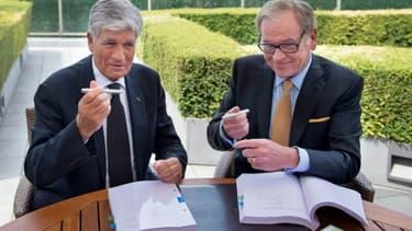 L'accord de fusion initial prévoyait une immatriculation fiscale aux Pays-Bas