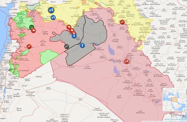 La situation actuelle en Syrie.