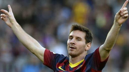 Lionel MEssi a battu le reocrd absolu de buts au Barça lors du match qui opposait le FC Barcelone à Osasuna.