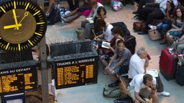 200 personnes ont dû passer la nuit à l'hôtel à Gare du Nord, faute de pouvoir embarquer dans un Eurostar. (Photo d'illustration)