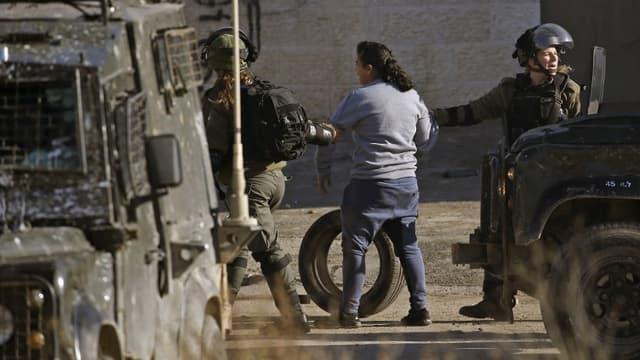 Les forces israéliennes à Ramallah le 13 décembre.
