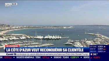 Tourisme: comment la Côte d'Azur tente de reconquérir sa clientèle