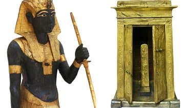 150 oeuvres issues de la tombe de Toutankhamon vont être exposées à Paris.