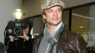 David Hallyday à Los Angeles en 2009