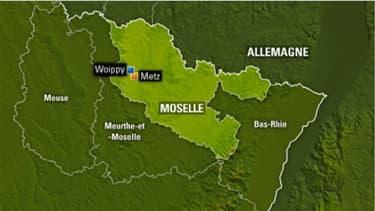 La ville de Woippy en Moselle