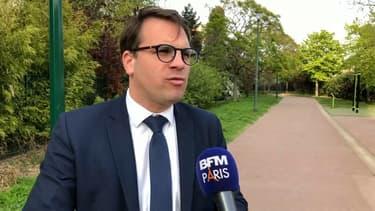 Geoffroy Boulard, le maire LR du 17e arrondissement de Paris.