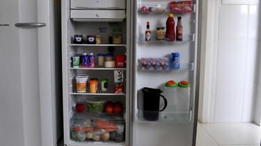 Image d'illustration réfrigérateur ouvert
