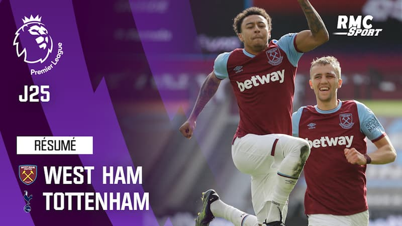 Résumé : West Ham 2-1 Tottenham - Premier League (J25)