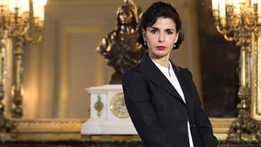 Rachida Dati, dans son bureau à la mairie du VIIe arrondissement de Paris, lors de la campagne des municipales de mars 2014.