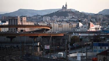 Une vue de Marseille le 10 janvier 2018.
