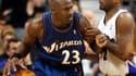 Michael Jordan sous le maillot des Washington Wizzards