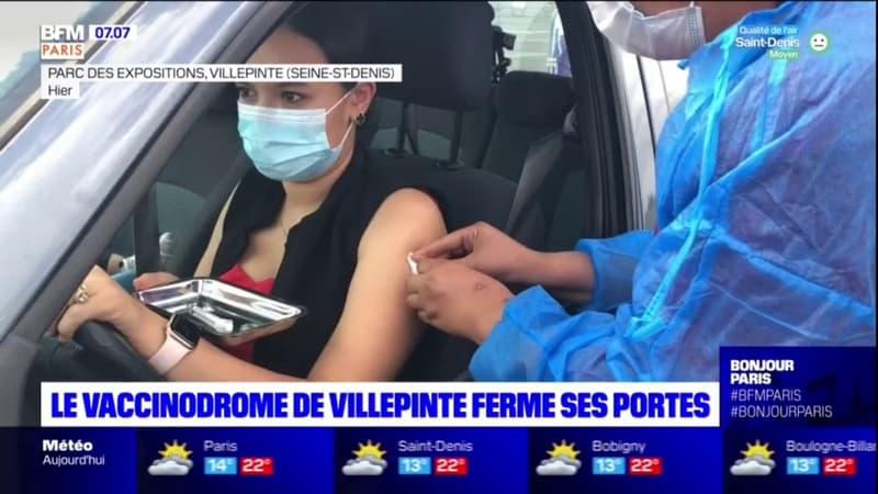Seine-Saint-Denis: le vaccinodrome de Villepinte ferme ses portes