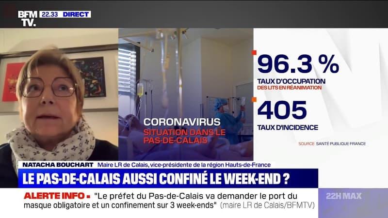 """Reconfinement le week-end du Pas-de-Calais? Pour la maire de Calais, """"cette mesure ne sera peut-être pas suffisante"""""""