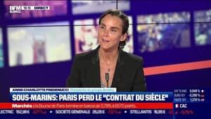 """Anne-Charlotte Fredenucci (Groupe Ametra) : Sous-marins, Paris perd le """"contrat du siècle"""" - 17/09"""