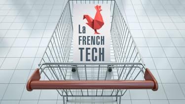 Acheter des produits connectés labellisés French Tech au supermarché, huit enseignes s'y engagent.