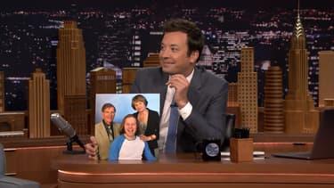 Jimmy Fallon sur le plateau du Tonight Show, lundi 17 juillet 2017