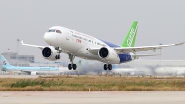 L'avion chinois C919 a effectué son premier spectacle aérien