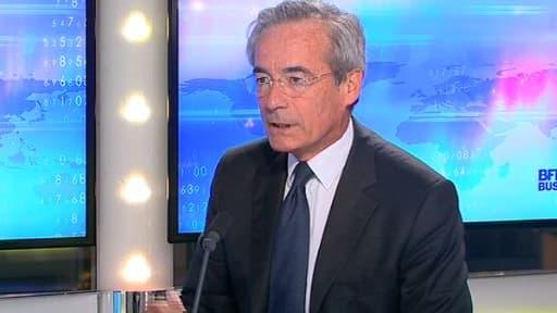 Frédéric Saint-Geours, le nouveau président du Groupe des fédérations industrielles, était l'invité de BFM Business, lundi 16 septembre.