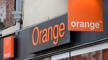 Boutique Orange (photo d'illustration).