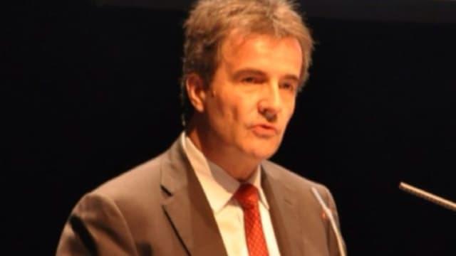 Philippe Brassac était auparavant directeur général du Crédit Agricole Provence Côte d'Azur.