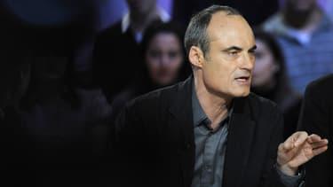 """Philippe Val, ici en 2008, quand il était encore directeur de la rédaction de Charlie Hebdo, a estimé ce mercredi qu'une """"bataille a été perdue"""" contre les terroristes."""