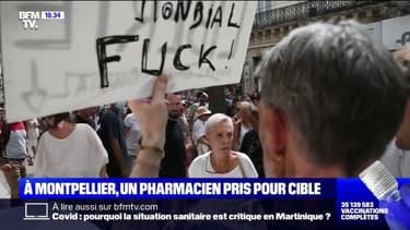 Montpellier: un pharmacien pris pour cible par des manifestants anti-pass sanitaire