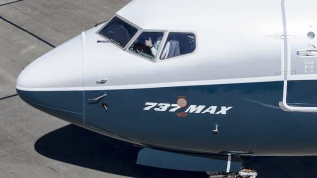 Le 737 MAX de Boeing est cloué au sol depuis mars 2019.