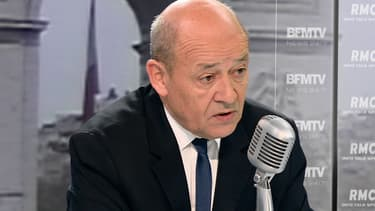 Jean-Yves Le Drian ce vendredi sur BFMTV.