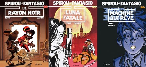 Spirou et Fantasio par Tome et Janry