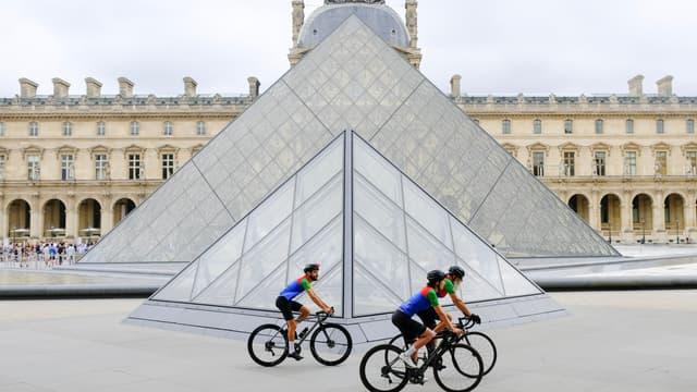 Des coureurs cyclistes participant au Nicola Werner Challenge.
