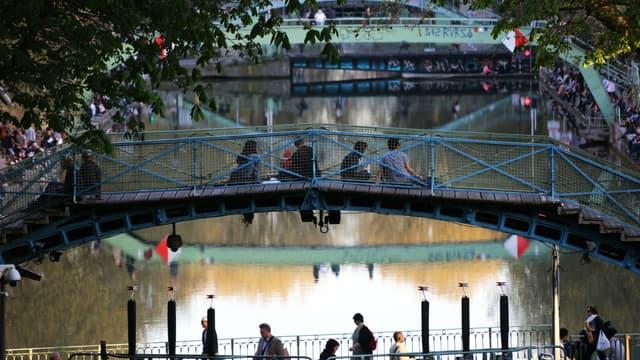 Des lanternes illuminées seront déposées sur le canal Saint-Martin dimanche soir.