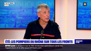 Fortes chaleurs, incendies: les pompiers du Rhône sur tous les fronts cet été
