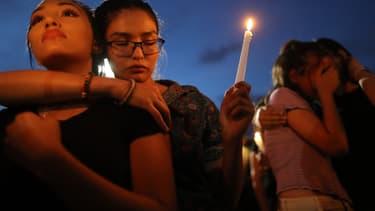 Hommage aux victimes de la fusillade d'El Paso
