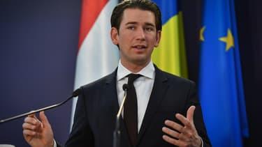 """Sebastian Kurz, le chancelier autrichien, s'est engagé à introduire une """"taxe Gafa""""."""