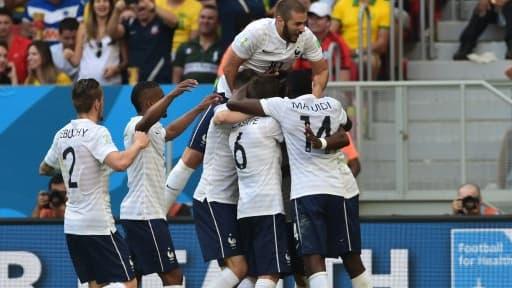L'équipe de France s'est qualifiée pour les quarts de finale du Mondial 2014.