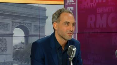 Raphaël Glucksmann invité de RMC-BFMTV ce vendredi