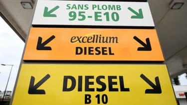 Le prix du gazole, carburant le plus vendu, valait 1,1854euro par litre, en hausse de 0,86 centime par rapport à la semaine précédente.