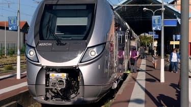 Le TER Regio 2N, construit pour la SNCF par l'industriel au capital canadien Bombardier.